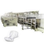 China sanitary pad making machine Full Automatic manufacture ladies sanitary pads making machine for sale