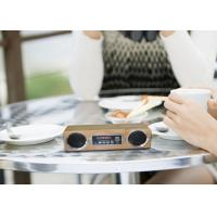 China Wireless Indoor Outdoor Bluetooth Speakers Mini Card Speaker For Computer / Phone on sale