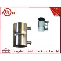 """Quality Set Screw Coupling EMT Conduit Fittings With Steel Locknut 1/2"""" to 4"""" , UL E350597 for sale"""
