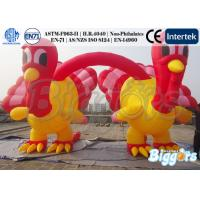 Best Giant Inflatable Christmas Decoration Inflatable Turkey Shape For Thanskgiving wholesale