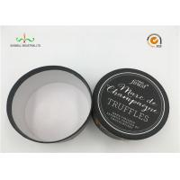 Buy cheap White Cardboard Cylinder Containers For Facial Cream / Cosmetic Tube Packaging from wholesalers
