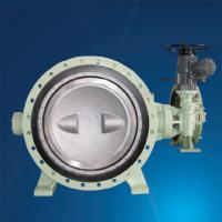 Quality small worm gear operated iso 5752 double flanged butterfly valve for sale