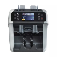 Quality USD EUR GBP COP ARS Multi-currency Sorter with 2 pocket 2 CIS TFT screen support printer FMD-900 for sale