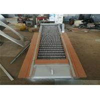 Quality Customized Wastewater Fine Screens SS304 SS316 Material 75° Inclined Angle for sale