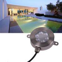 Quality Outdoor 12V LED Underwater Fixture Stainless RGB Color Changing LED Pool Light for sale