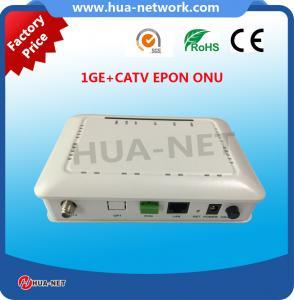 China Single fiber CATV ONU 1GE+CATV EPON/GEPON ONU/ONT FTTH ONU/Fiber optic ONU on sale