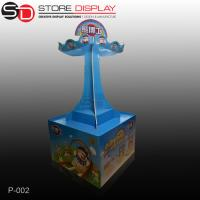 China custom attractive market pallet display stand for kid toys on sale
