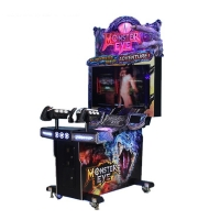 """Quality 42"""" LCD Coin Pull Shooting Arcade Machine With Seat for sale"""