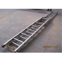 Quality Aluminum Alloy Fire Truck Extension Ladder Rack Width 550 Length 6200 Height 200 for sale