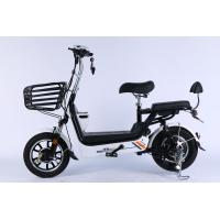 14 Inch Folding Electric Bike With Hidden Lead Acid Battery And Front Disc