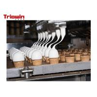 Quality 500 Tons /D Dairy Processing Line Ice Cream Manufacturing Equipment for sale