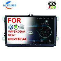 Quality Professional Volkswagen DVD Player Bluetooth Navigation In Dash Touch Screen Radio for sale