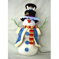 Best Stuffing Dressed Snowman Battery Power Musical Educational Toys for Preshoolers wholesale