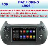 Quality High Resolution Fiat DVD Player 2008+ Fiat Fiorino Radio Car GPS Stereo Touch Screen for sale