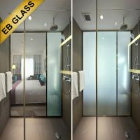 Quality smart glass, switchable pdlc glass, pdlc privacy glass, intelligent glass, eb glass brand for sale