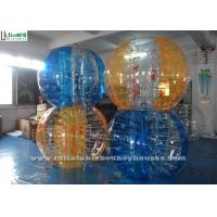 China Custom Party Activities TPU Zorb Soccer Ball Inflatable Bumper Ball for Kids on sale