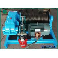 Quality 5-25MT Sing Drum or Double Drums Electric Boat Winch Manufacturer Supply for sale