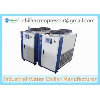 Quality -5C 5 Tons Air cooled glycol water chiller for  beer brewery wort cooling and fermenters for sale