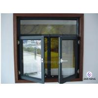 Buy cheap Tempered Safety Glass Aluminum Casement Windows , Powder Coating Finished from wholesalers