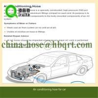 China Rubber R134a ac hose for car air conditioning system parts on sale