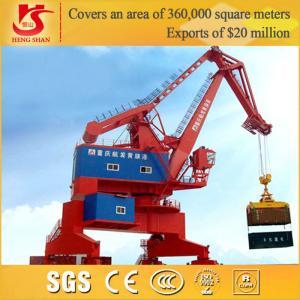 Quality Loading & Unloading 360 Degree rotation Offshore Pedestal portal crane for sale