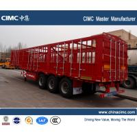 China CIMC tri-axles 60tons cargo trailer on sale