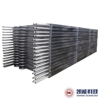 China The Welded Structure Is a Three-Point Welded H-Shaped Finned Tube with Ash Removal Capacity for sale