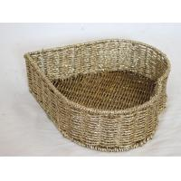 China wholesale 100% handwoven   home storage basket with golden foil material, decorative item on sale