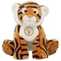 Quality Brown Tiger With Tag Soft Toy Plush Toy for sale
