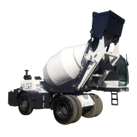 Quality self loading concrete mixer truck H3600A (3.6 m³, articulated chassis) for sale