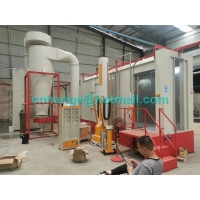 Quality Monocyclone Automatic  Powder Coating Production Line For Steel Parts for sale