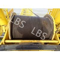 Quality Integral Type Lebus Groove Drum Winch For Offshore PlatformTower Crane for sale