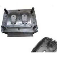 China Plastic molding manufacturing for office supplies plastic parts computer mouse injection tooling making on sale