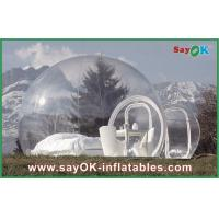 China Large Outdoor Inflatable Tent Bubble Transparent Inflatable Camping Tent For 2 Man on sale