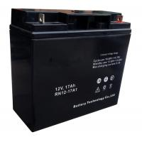 Quality Sealed 17ah 12V Lead Acid Battery With ABS Containers And Covers for sale