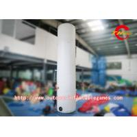 Quality Pink Inflatable Advertising Balloons , Outdoor Advertising Inflatable Columns for sale