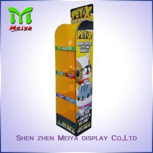China Custom Pop Cardboard Displays For Promotion, Cardboard Floor Display Stands on sale
