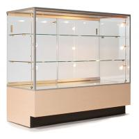 China Custom Portable Jewelry Showcases , Jewelry Store Display Cases For Necklace on sale