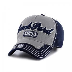 Quality Custom Printed Baseball Caps , Applique Hip Hop Baseball Caps For Boy for sale