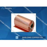 35um Single Shiny FCCL / PCB Electrolytic Copper Shielding Foil For Pcb Printed