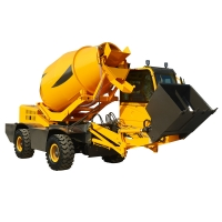 Quality self loading concrete mixer truck H3000 (3 m³, integrated chassis) for sale