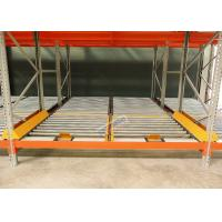 China High Density Storage Racks Pallet Flow Rack System For Logistics Distribution Centers on sale