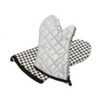 Quality OEM  Waterproof  Silver Oven Mitts  Steam Protection Heat  Resistance for sale