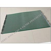 Quality Hookstrip Flat Rock Shaker Screen For Model 2000 Shale Shaker Solids Control System for sale