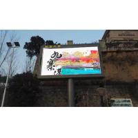 China Front Opening Cabinet 1/4 Scan High Resolution Led Screen Display SMD 10 Mm Pixel Pitch on sale