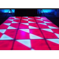 Best Portable DJ Stage LED Dance Floor Indoor For Wedding Bar Club / Events , DMX Control wholesale
