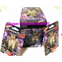 Best Rhino 69 3D  Cards 9000 Extreme Male Sexual Performance Enhancer sex pill capsule bullet wholesale