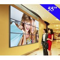 China 55 Inch wall mounted video wall LCD Digital display with 3.5mm narrow bezel on sale