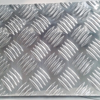 Quality 1000 Series Embossed Aluminum Check Plate Aluminium Chequer Plate for sale