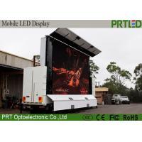 Quality Full Color Truck Mounted LED Display P6 With Customized Screen Size for sale